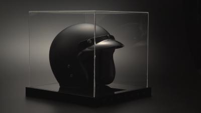 capacete cupula